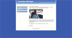 Preview of kurierdienst-breisgau.de