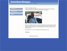 Tablet Preview of kurierdienst-breisgau.de
